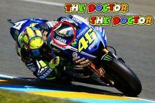 Rossi The Doctor windscreen screen font MotoGP decals stickers 46 racing vr