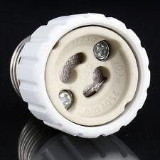 E27 to GU10 Extend Base LED CFL Light Bulb Lamp Adapter Converter Socket FE