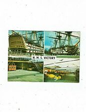 POST CARD COLOUR PHOTO `S OF H.M.S. VICTORY
