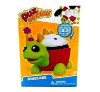 Puzoodles Puzzle Pets DinoCake 23 Pieces Toy Set Dinosaur Cup Cake Party Turtle