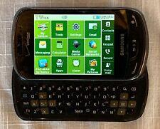 Samsung Brightside SCH-U380 - Metallic Black (Verizon) Cellular Phone