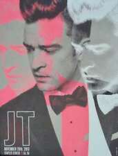 Justin Timberlake Los Angeles 2013 Limited edition Concert poster Kii Arens Mint