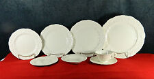 "92-PCS (OR LESS) OF VINTAGE POPE-GOSSER ""ROSE POINT"" PATTERN CHINA (EARLY MARK)"