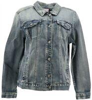 Laurie Felt Denim Jacket Vintage Wash XL NEW A290645
