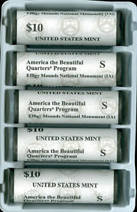 2017-S EFFIGY QUARTER US MINT SEALED ROLL MINTAGE ABOUT 800,000 OR 20,000 ROLLS