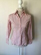 Women's Express Design Studio Classic Fit Button Front Size 4 (D1)