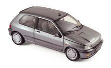 NOREV 1:18 AUTO DIE CAST RENAULT CLIO 16S TUNGSTENE GREY GRIGIO ART 185234