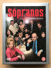 Los Soprano~ Temporada 4 ~ Culto Americano Tv Series Gb DVD Box Set