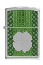 Zippo 3174 four 4 leaf clover lucky Lighter