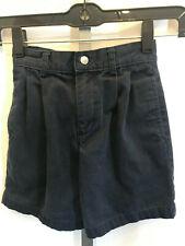 Boys Youth Izod Blue Chino Shorts Size 6 Slim Adjust Uniform Back to School B13