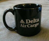 Delta Airlines Air Cargo Coffee Mug - McDonnell Douglas MD-11 Jet DAL Large Cup