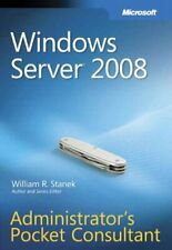 Windows Server 2008  Administrator's Pocket Co... by William R. Stanek Paperback