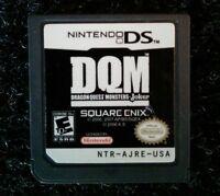 DQM Dragon Quest Monsters Joker Nintendo DS Cartridge Tested Square Enix Rare
