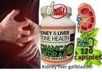 Health Plus Kidney Cleanse 120 Caps Detoxifying Cleanse Healthy Kidney Gallbladd