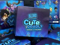 Lot of 2 Blizzard Entertainment's Cute But Deadly Figures - Series 2 Blind Boxes