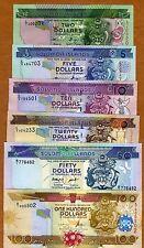 SET Solomon Islands, $2;5;10;20;50;100 ND (1997-2010), UNC