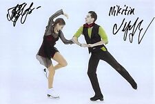 Alexandra NAZAROVA / Maxim NIKITIN - UKR - Eiskunstlauf - Foto sig. (2)