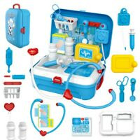 Toy Medical Kit Kids Pretend Play Dentist Doctor Kit Playset Carrying Case 17PCS