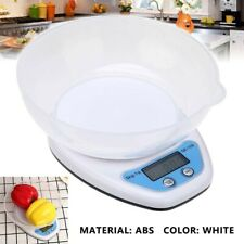 5KG FOOD WEIGHING SCALE DIGITAL LCD ELECTRONIC KITCHEN COOKING MEASURING BOWL