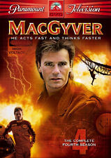 MacGyver Series 4 The Complete Season 4 DVD Box Set [6 Discs] 5014437868534 NEW