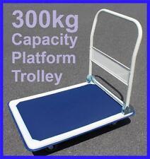 HEAVY DUTY HANDTRUCK FOLDABLE PLATFORM TROLLEY 300KG