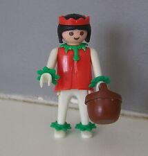 PLAYMOBIL (E404) INDIENS - Squaw Femme avec Panier du Set Vintage 3483 De 1976