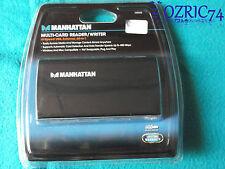Multi Card Reader Writer Hi Speed USB External 60 in 1 Manhattan