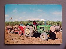 R&L Postcard: Bundaberg Queensland Australia, Farming Tracor John Deere