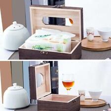 Retro Wooden Tissue Box Toilet Paper Cover Case Napkin Holder Home Car Supplies