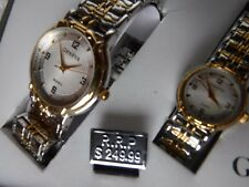 New Womens Geneva Classic Collection Watch Set Needs Battery  2 Watch Collection
