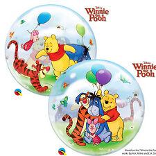 "Qualatex 22"" Single Bubble Winnie The Pooh Balloon Birthday Party Decoration"