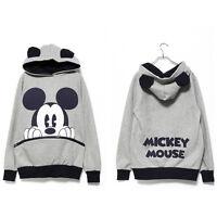 2PCS Minnie Mouse Women Tracksuit Hoodies Sweatshirt Pants Set Sport Casual Suit