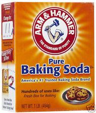 Arm & Hammer Pure Baking Soda 454g 1 LB. Large Box Arm&Hammer