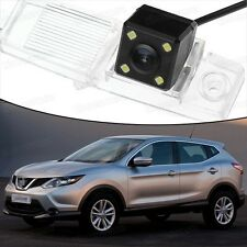 4 LED CCD Rearview Camera Reverse Parking Backup for Nissan Qashqai 2014-2016