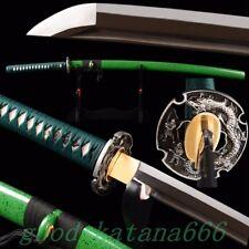 Hand Made Carbon Steel Sharp Blade Katana Japanese Samurai Swords Dragon Tsube#2