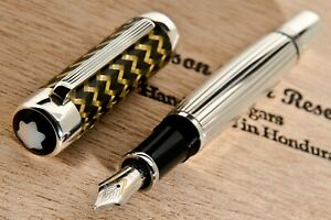 New ,Montblanc - a FINE LIMITED EDITION 2004, J.P. MORGAN. FOUNTAIN PEN