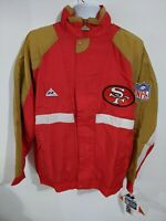 NWT Vintage 90's San Francisco SF 49ers Apex One Windbreaker Jacket NFL ProLine
