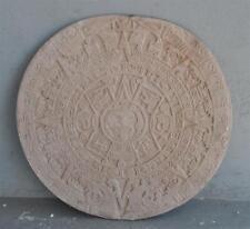 Moule ancien d'atelier de plâtrier staffeur - rosace motifs précolombiens