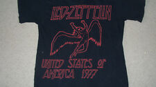 (Reissue) 1977 LED ZEPPELIN United States Tour T-Shirt Size MEDIUM Mens Womens