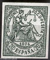España Nº 146 FALSO EPOCA 20 Ctmos. @ NUEVO PERFECTO @@