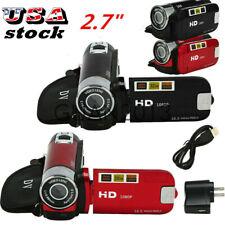 1080P HD Camcorder LCD Video Camera 16X-Digital-Zoom DV/AV Night Vision US
