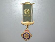 jewish 'Gal Ezer' RAOB WW2 Medal 1945 Grand Lodge England Masonic soldier pin