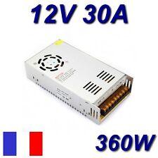 Alimentation Secteur Stabilisée Regulée AC DC 220V 12V 30A 360W CCTV LED