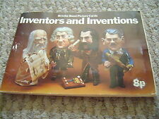 Inventors And Inventions Album & Cards By Brooke Bond