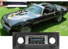 CD Player & NEW* 300 watt AM FM Stereo Radio '77-81 Firebird iPod USB Aux inputs