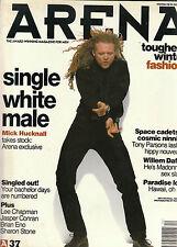 ARENA Magazine #37 SIMPLY RED MICK HUCKNALL Sharon Stone BRIAN ENO Willem Dafoe