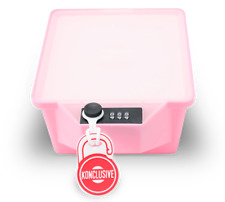 Konclusive Container  Anti - Theft & Tampering Lunchbox with A Lock