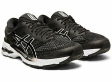 Asics Gel-Kayano™ 26 Mens Running Lace Up Sports Shoes Trainers Black White
