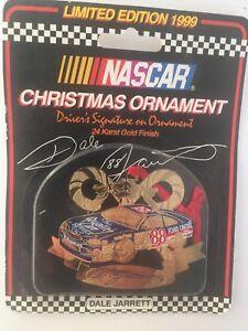 "NASCAR CHRISTMAS ORNAMENT LIMITED EDITION 1999 ""DALE JARRETT"""