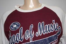 UMM TEE SHIRT DJ OLDSCHOOL MUSIC JEAN MTV M 40 42 NEUF